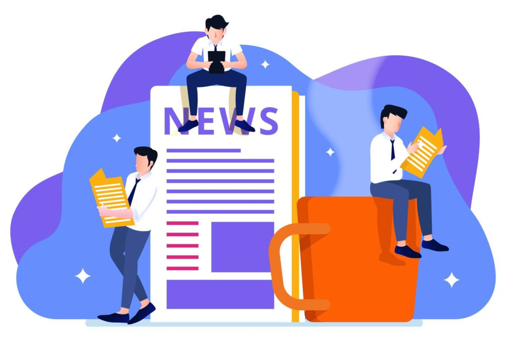 get featured on popular news sites